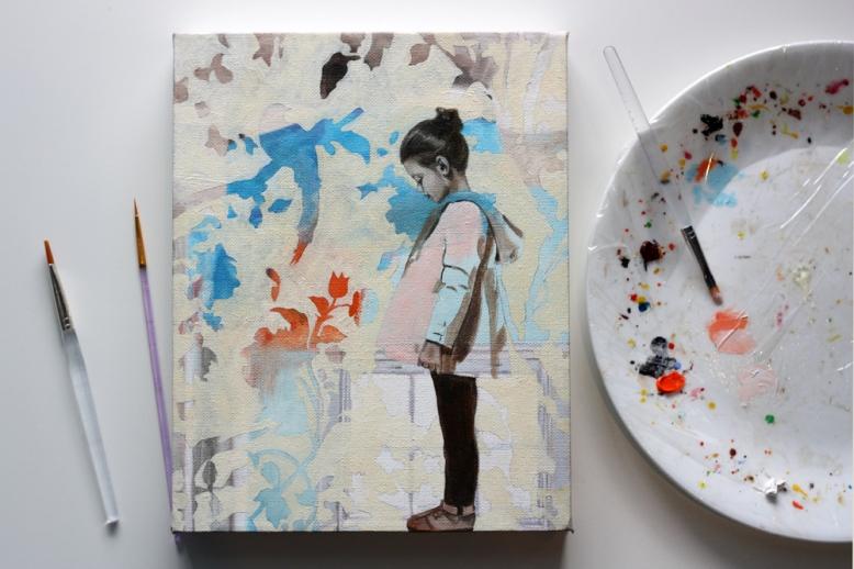 Project RE:MAKE by Rose Miller of Wolfgang & Rose Art www.wolfgangandrose.com