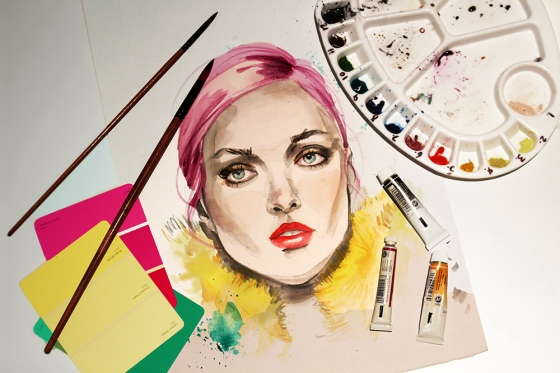 Fashion illustration classes sydney