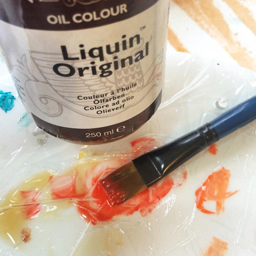 liquin glaze